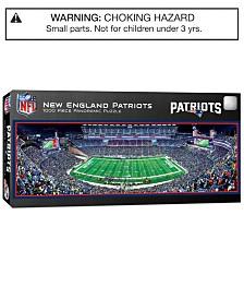 MasterPieces New England Patriots 1000 Piece Panoramic Puzzle