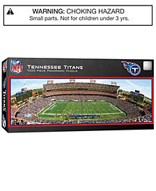 MasterPieces Tennessee Titans 1000 Piece Panoramic Puzzle