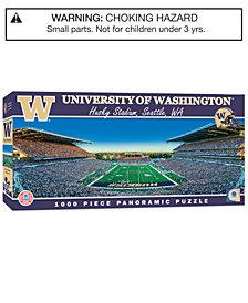 MasterPieces Washington Huskies 1000 Piece Panoramic Puzzle