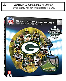 MasterPieces Green Bay Packers 500 Piece Shaped Puzzle
