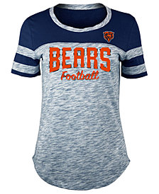 5th & Ocean Women's Chicago Bears Space Dye T-Shirt