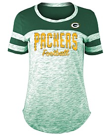 5th & Ocean Women's Green Bay Packers Space Dye T-Shirt