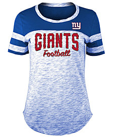 5th & Ocean Women's New York Giants Space Dye T-Shirt
