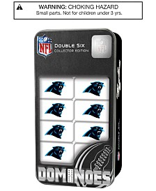 MasterPieces Carolina Panthers Dominoes Set
