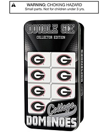 MasterPieces Georgia Bulldogs Dominoes Set