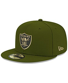 Oakland Raiders Basic Fashion 59FIFTY FITTED Cap