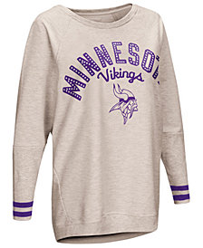 Touch by Alyssa Milano Women's Minnesota Vikings Backfield Long Sleeve Top