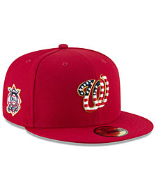 New Era Washington Nationals Stars and Stripes Low Profile 59FIFTY FITTED Cap