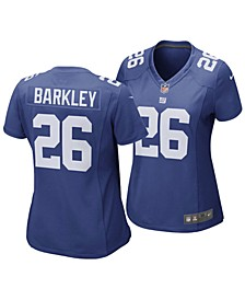 Women's New York Giants Saquon Barkley Game Jersey