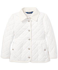 Polo Ralph Lauren Toddler Girls Quilted Barn Jacket