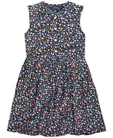 Polo Ralph Lauren Toddler Girls Floral Shift Dress
