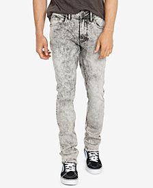 Buffalo David Bitton Men's Slim-Fit Ash-X Rowan Gray Jeans