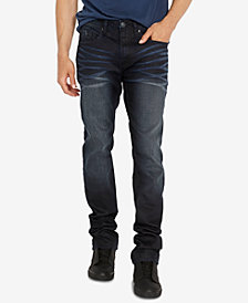 Buffalo David Bitton Men's Six-X Dark Blue Jeans