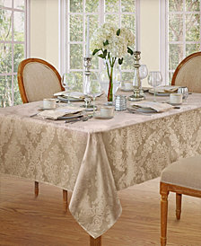 Elrene Barcelona Damask Beige Table Linen Collection