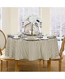 "Denley Stripe 70"" Round Tablecloth"