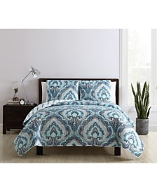 VCNY Home Nathaniel Reversible 2-Pc. Paisley Twin Quilt Set
