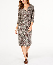 Weekend Max Mara Saggio Animal-Print Dress