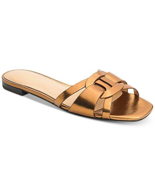 356afb4dfe13 ALDO Astirassa Slide Sandals   Reviews - Sandals   Flip Flops ...