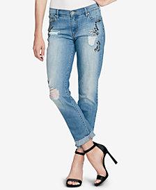 Jessica Simpson Mika Embellished Skinny Jeans
