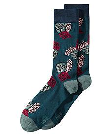 Bar III Men's Pine Cone Socks, Created for Macy's