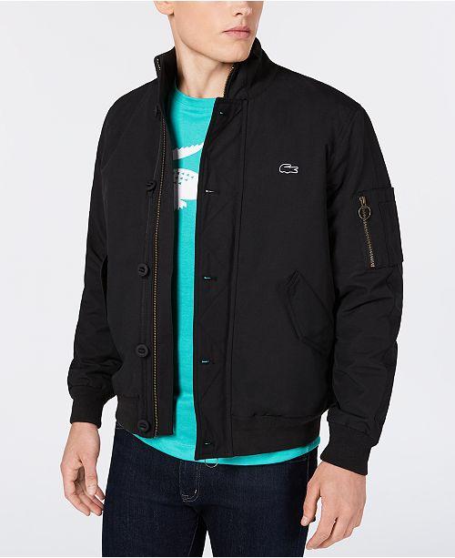 8511b8387 Lacoste Men s Bomber Jacket   Reviews - Coats   Jackets - Men ...
