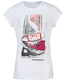 Converse Big Girls Graphic-Print T-Shirt