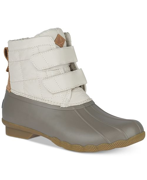 e103537cd702 Sperry Women s Saltwater Jetty Duck Booties   Reviews - Boots ...