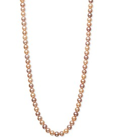 54 inch Cultured Freshwater Pearl Strand Necklace (7-8mm)