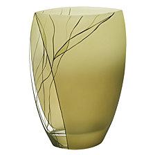 Evergreen 12 Inch Square Vase