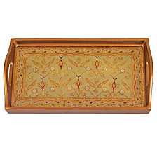 Antigua Sand 12.5 Inch Rectangle Tray