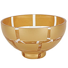 Gold Wall 7 Inch Decorative Bowl