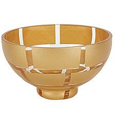 GOLD WALL 7  BOWL