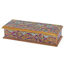 Cabra 9.5 Inch Keepsake Box