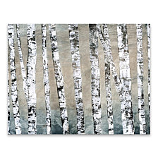 In The Woods Coated Embellished Canvas