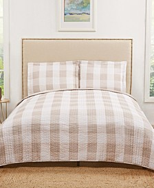 Everyday Buffalo Plaid Full/Queen Quilt Set