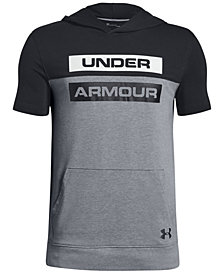 Under Armour Big Boys Sportstyle Logo-Print Hoodie