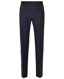 BOSS Men's Slim-Fit Italian Super 120s Virgin Wool Pant