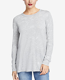 RACHEL Rachel Roy Imogen Splatter-Print Top, Created for Macy's