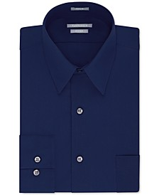 Men's Athletic Fit Poplin Dress Shirt