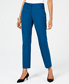 Alfani Petite Slim Pants, Created for Macy's