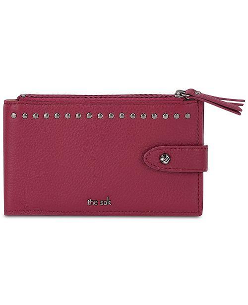 54ed542312eb The Sak Silverlake Slim Leather Credit Card Wallet   Reviews ...