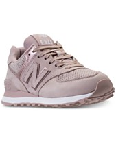 0858a2d2ca5f New Balance Women s 574 Rose Gold Casual Sneakers from Finish Line