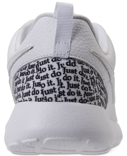 Nike Women's Roshe One Premium Just Do It Casual Sneakers