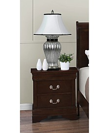 Parkchester Traditional Two-Drawer Nightstand