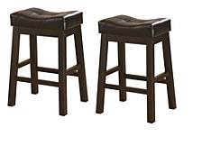 Cortlandt Transitional Counter-height Stool, Set of 2