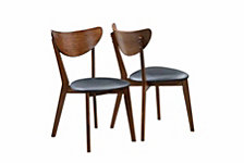 Belle Point Mid-century Modern Dining Chair, Set of 2