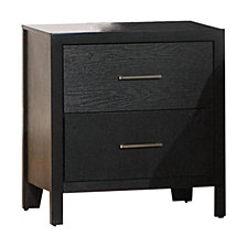 Unionport Transitional Two-Drawer Nightstand