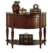 Lindenwood Traditional Console Table, Quick Ship