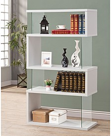 Weeksville Contemporary Four-tier Bookcase
