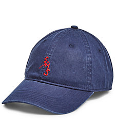 EMS® Men's Washed Cotton Twill Ice Axe Logo Cap